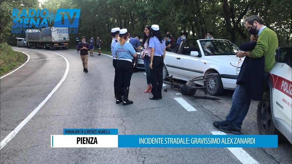 Alex Zanardi Incidente handbike