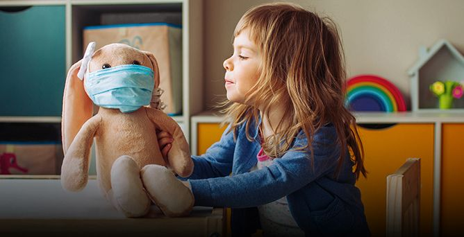 Mascherine Obbligatorie per Bambini