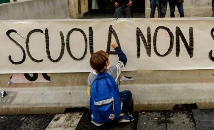 Protesta Contro La DaD a Sanremo