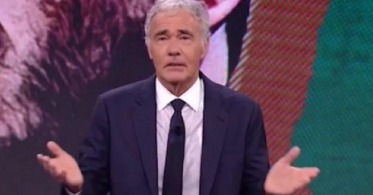 Massimo Giletti si Sente Male