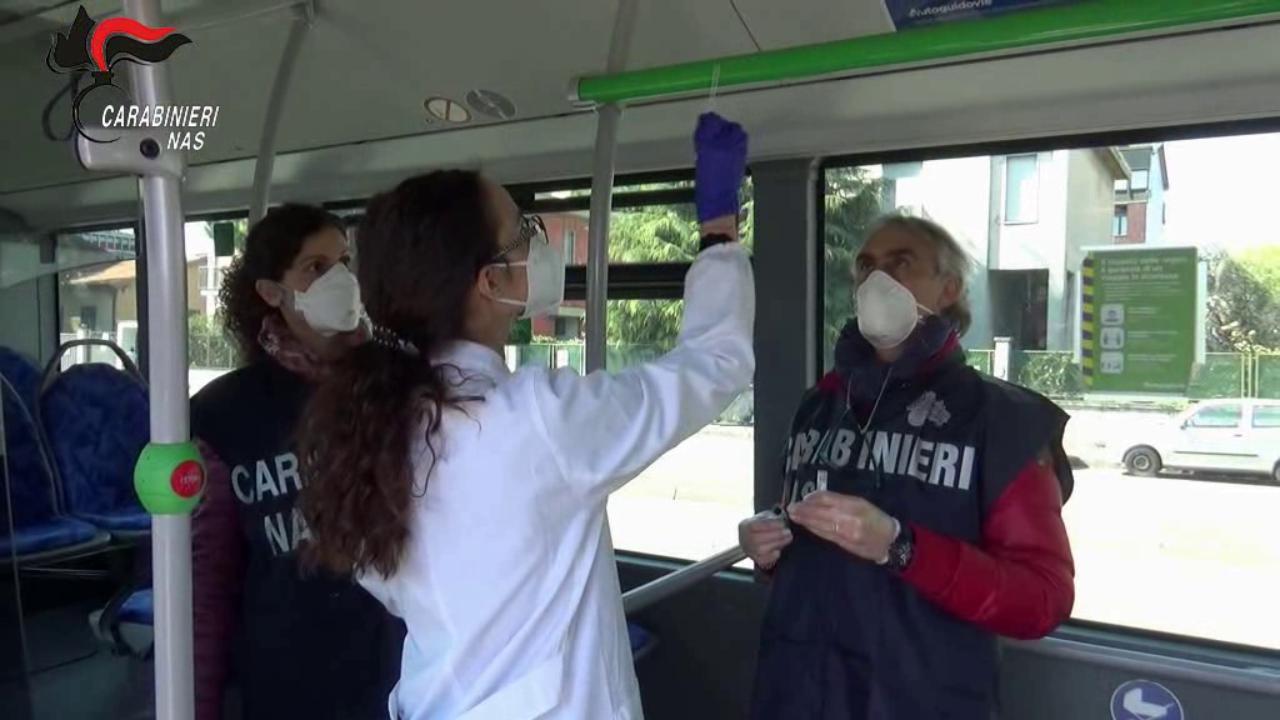 Virus Viaggia negli Autobus
