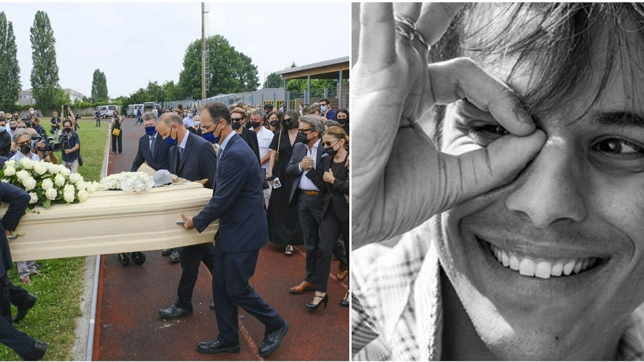 funerali di michele merlo