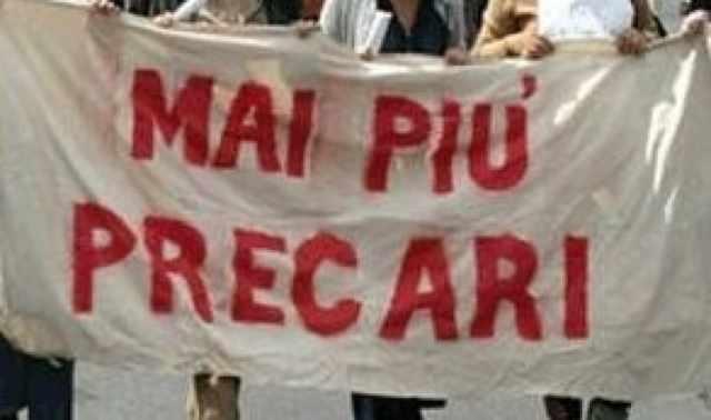Manifestazione Precari