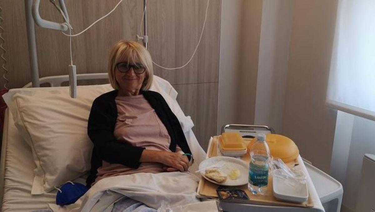 Luciana Littizzetto in Ospedale